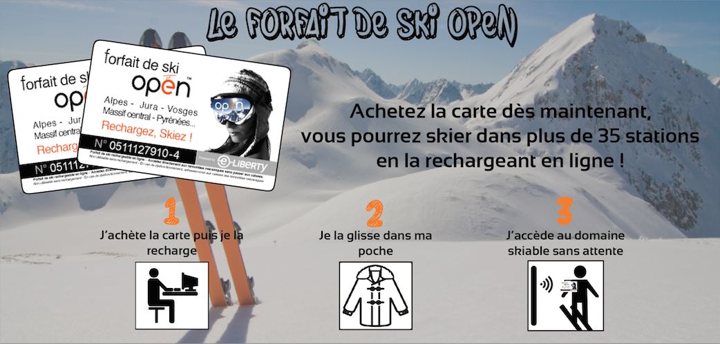 Forfait ski open